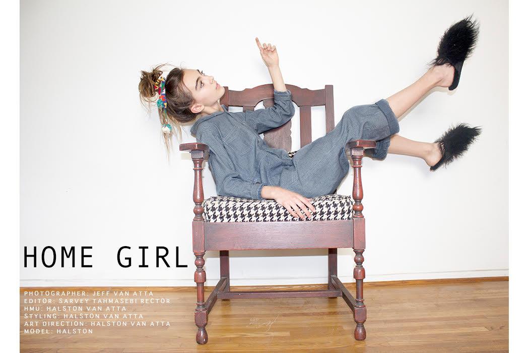 Quarantine Editorial: Home Girl #fashionfeature